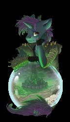 Pony art from Monere-lluvia