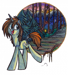 Pony art from OfficerPony