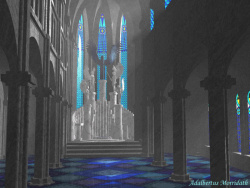 Blue Cathedral