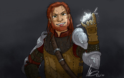OCtober: Warrior by Monere-lluvia